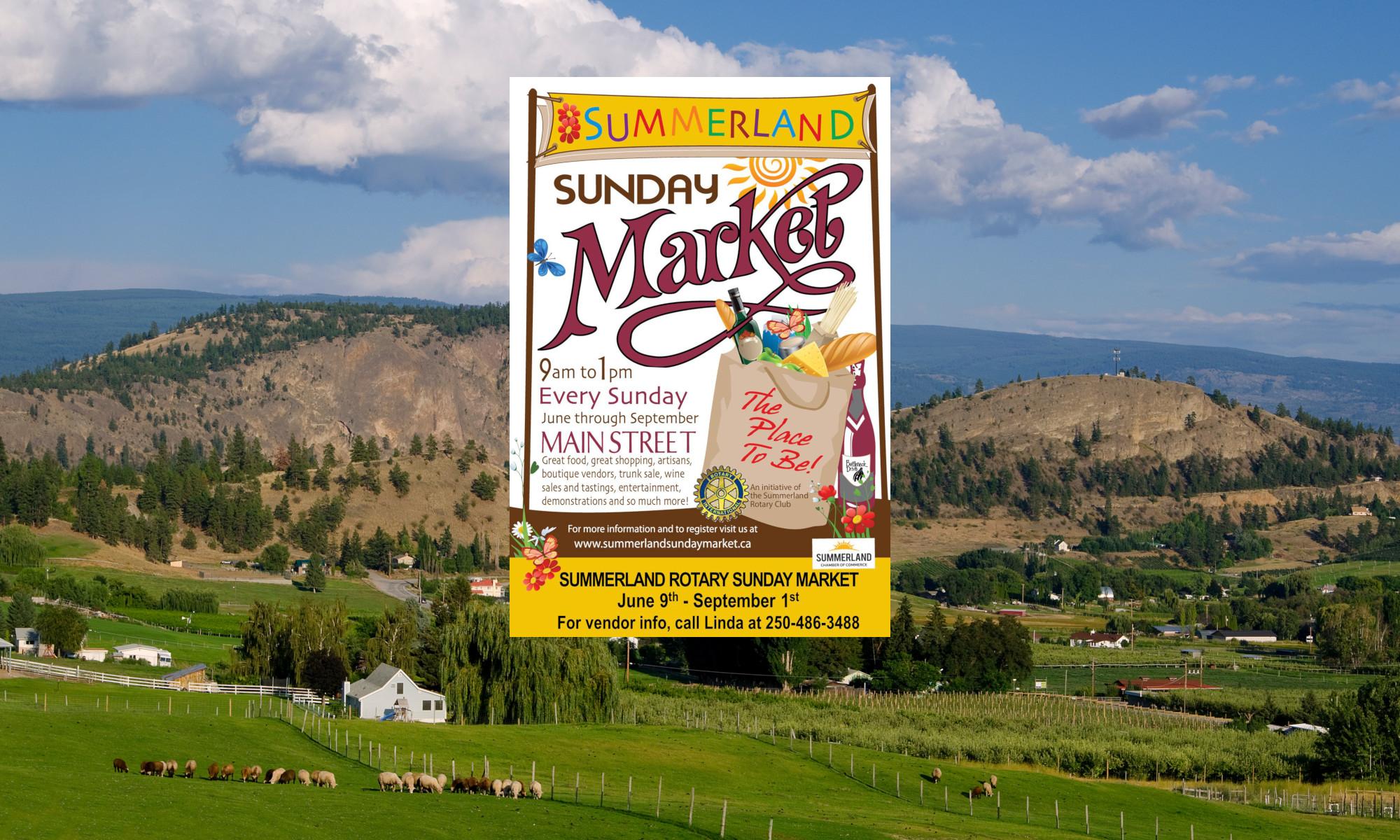 Summerland Rotary Sunday Market